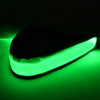 green fiber optic light up headband using LED Lights