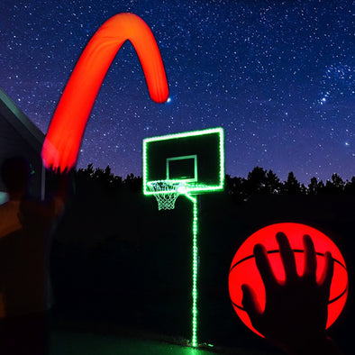 Light Up LED Basketball and Hoop Lighting Kit