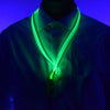 GlowCity Green LED light up Lanyards