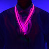 GlowCity Pink LED light up Lanyards