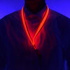 GlowCity Red LED light up Lanyards