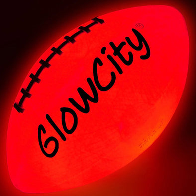 Ultra Bright Glow In The Dark Impact Activated LED Footballs