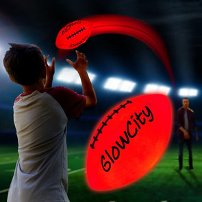 Ultra Bright Glow In The Dark Impact Activated LED Mini Football