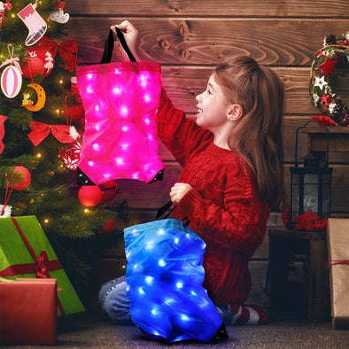 GlowCity Light Up LED Gift Bag