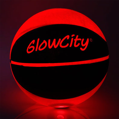 Light Up LED Basketball Blackout-Light Up LED Basketball-Official Size