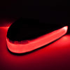 Red unique athletic headband for night events light up LED headband
