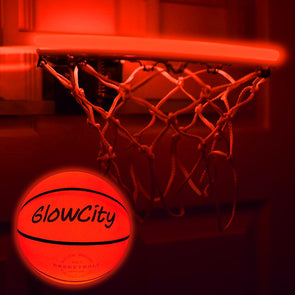 LED Mini Basketball Rim Lighting Kit red