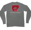 Arkansas The State Long Sleeve T Shirt
