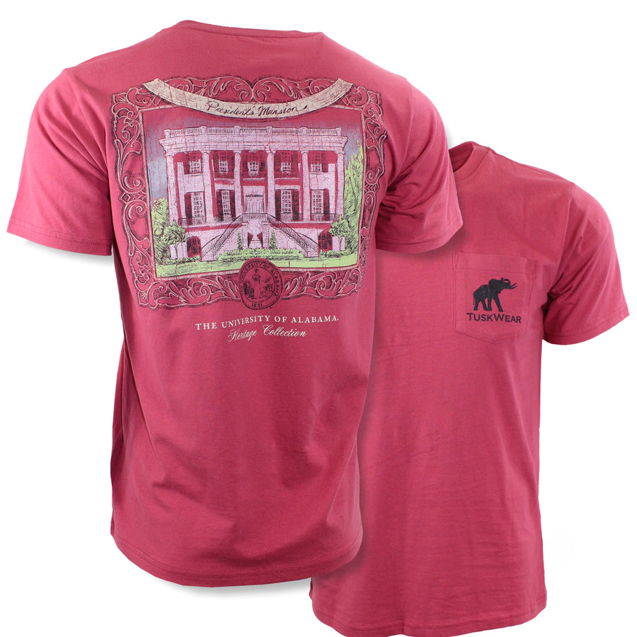 TuskWear President's Mansion Short Sleeve Tee - Heritage Collection