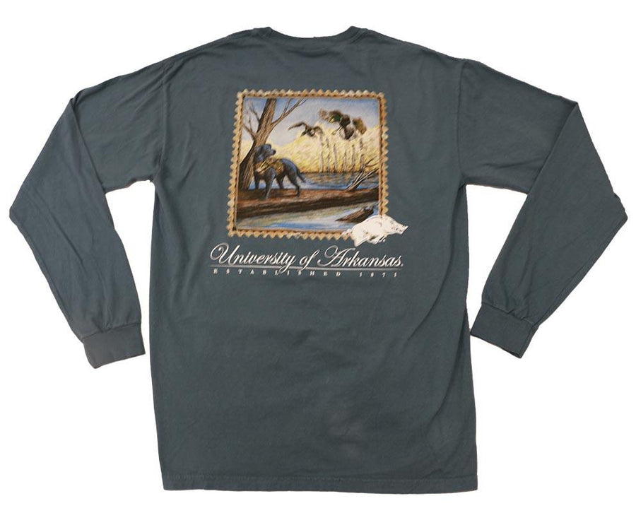 Arkansas Duck Hunt Long Sleeve T Shirt