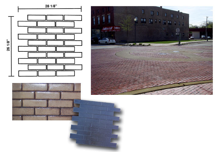 Crisp Edge Brick Stamp