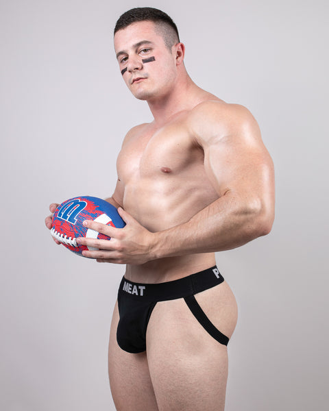 THREE (3) PACK RUGBY FOOTBALL JOCKS - SIZZLING