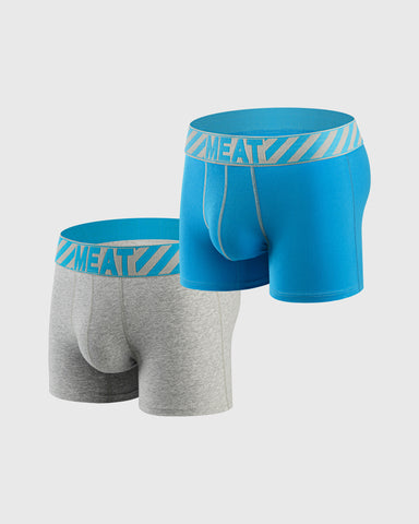 TWO (2) PACK REBELLIOUS BOXERS - INVERT
