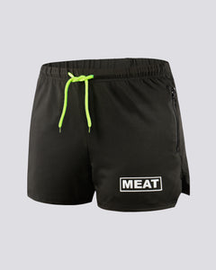 RUGBY TRAINING SHORTS - BLACK