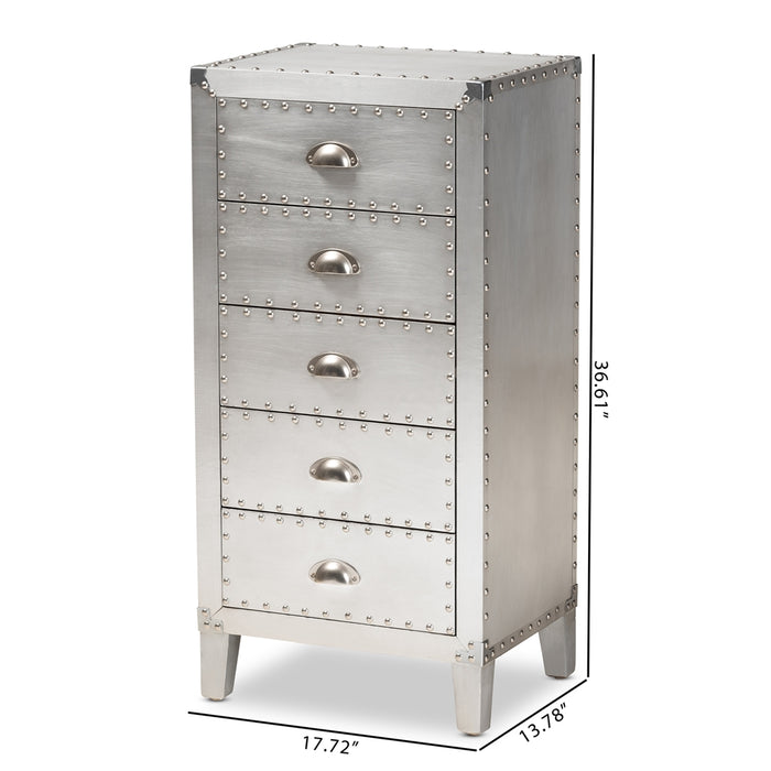 Carel 5-Drawer Dresser