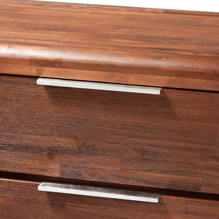 Torres Contemporary (6-Drawers) Wood Dresser