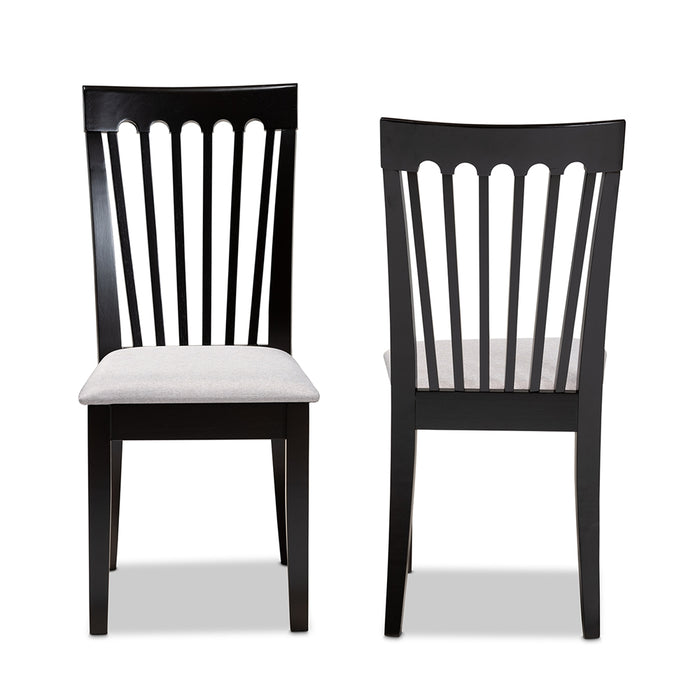 Minette Modern (Set of 2) Wood Dining Chair