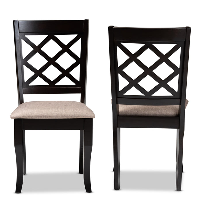 Verner Two (2) Dining Chairs