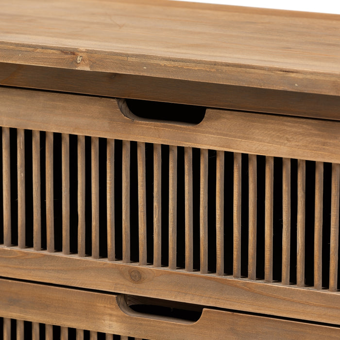 Clement Transitional Wood Chests