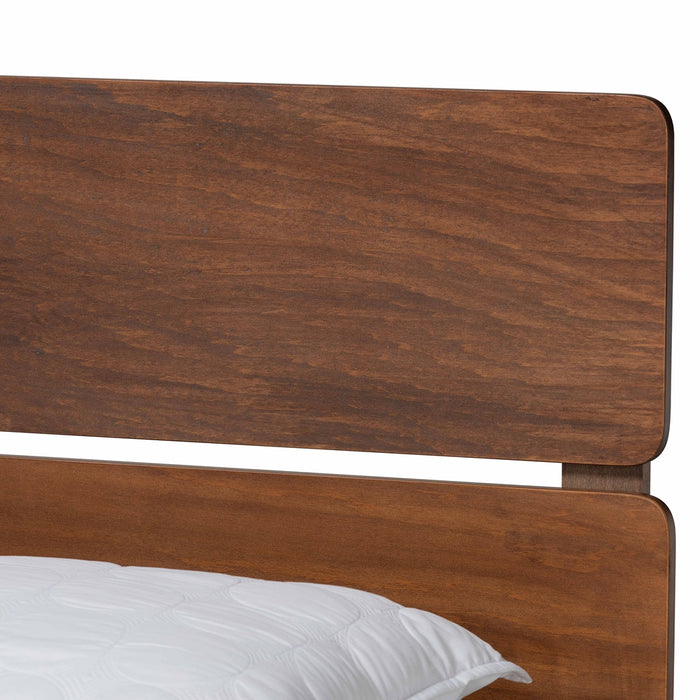 Anthony Modern Wood Panel Bed