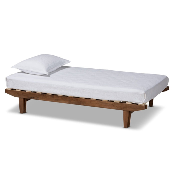 Hiro Modern Wood Bed Frame