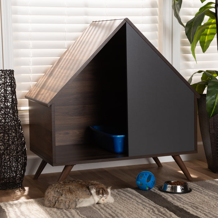 Mia Modern 2-Door Cover Pet House