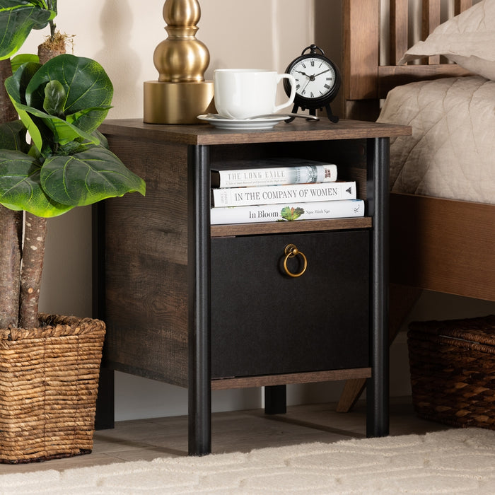 Vaughan Modern  Wood Nightstand