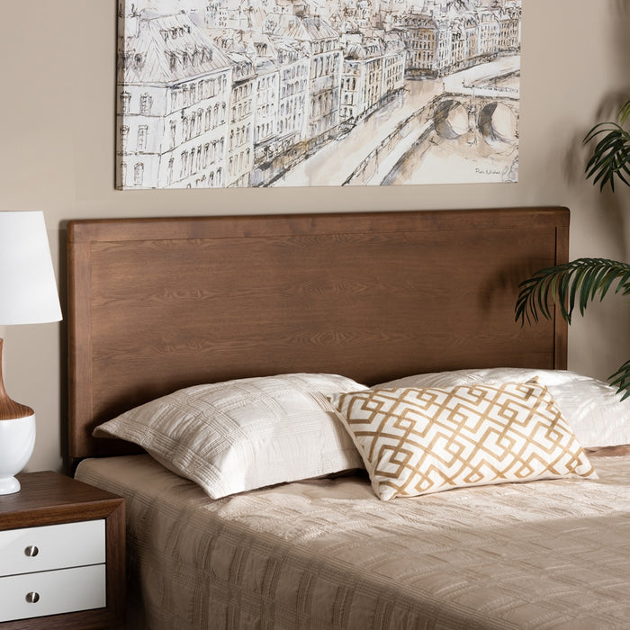 Alan Transitional Wood Headboard
