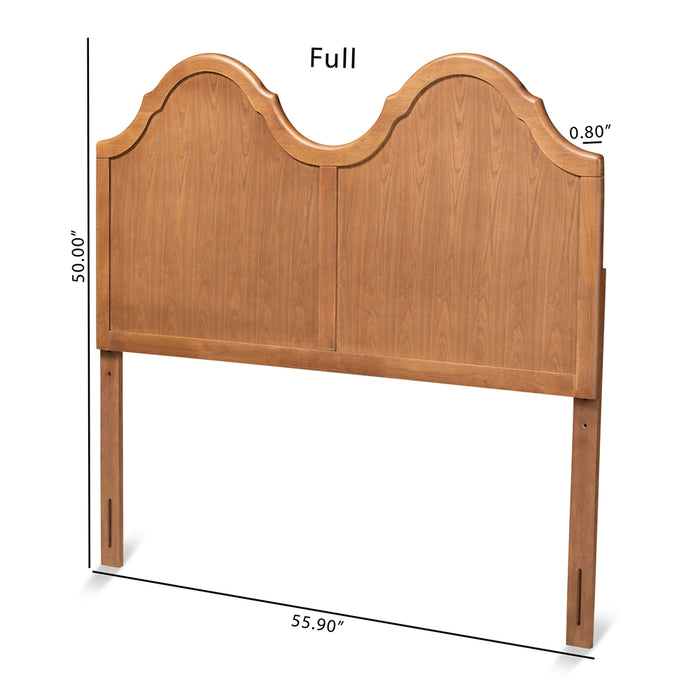 Tobin Transitional Wood Headboard