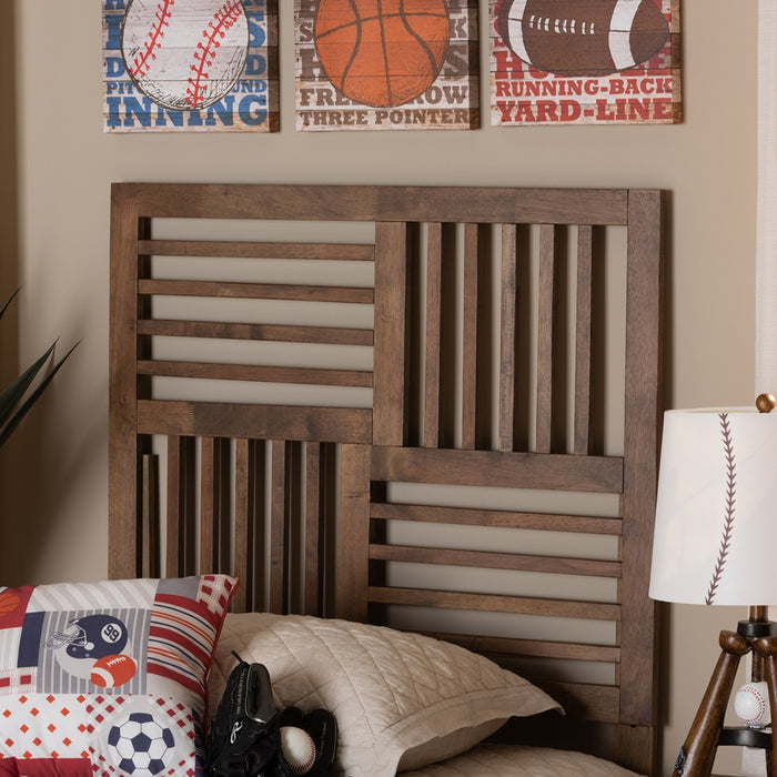 Adler Modern Wood Headboard