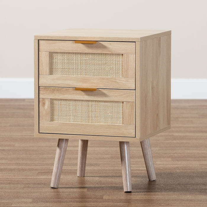 Baird 2-Drawer Nightstand