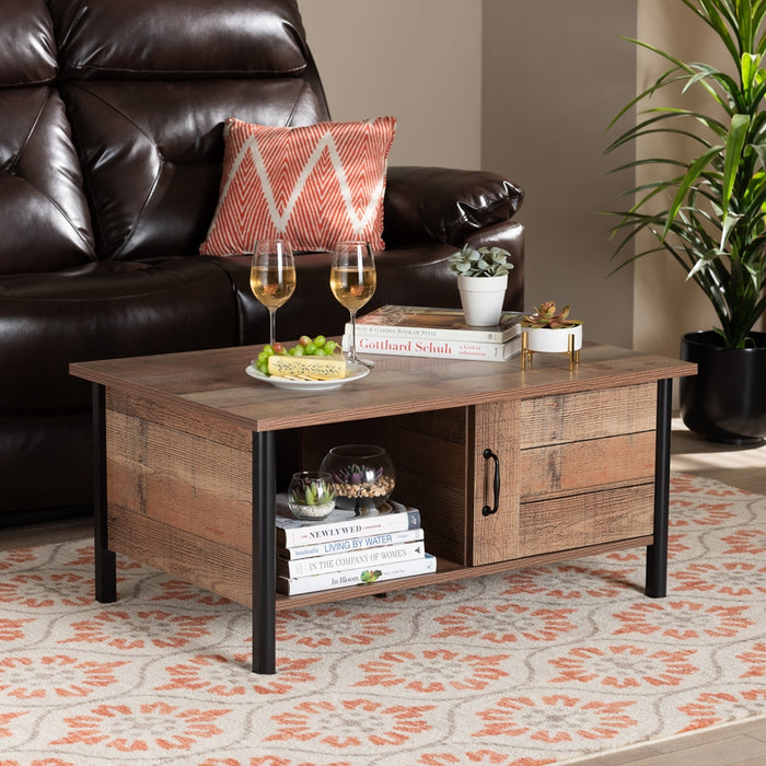 Vaughan Modern and Contemporary Wood Coffee Table