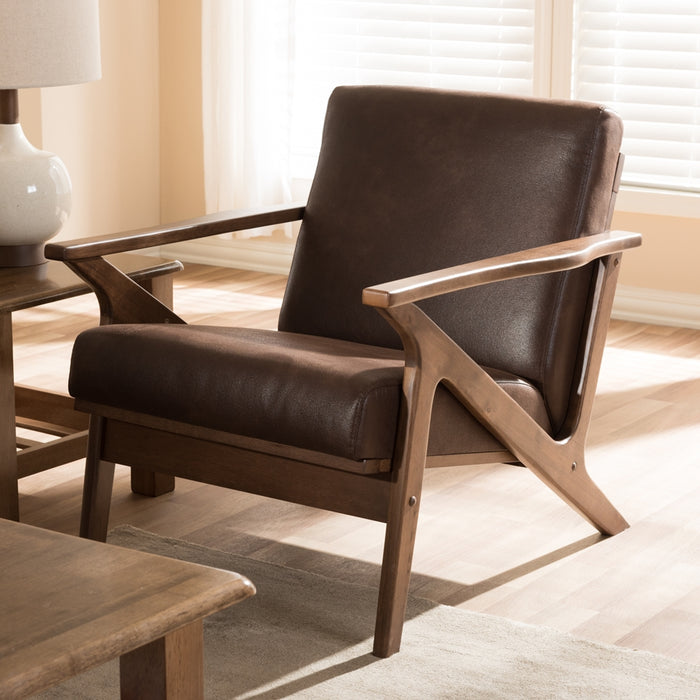 Bianca Leather Lounge Chair
