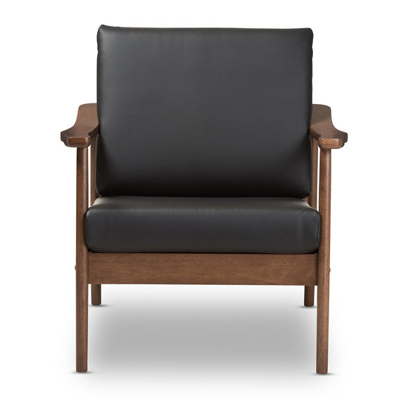 Venza Leather Lounge Chair