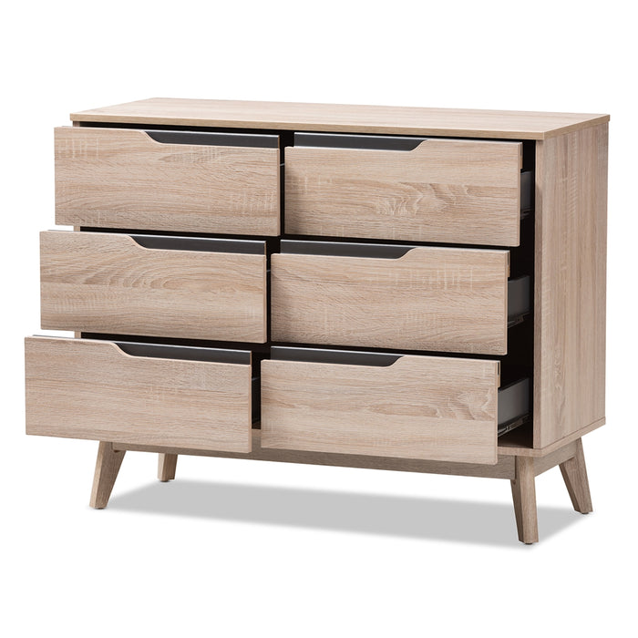 Fella 6-Drawer Dresser