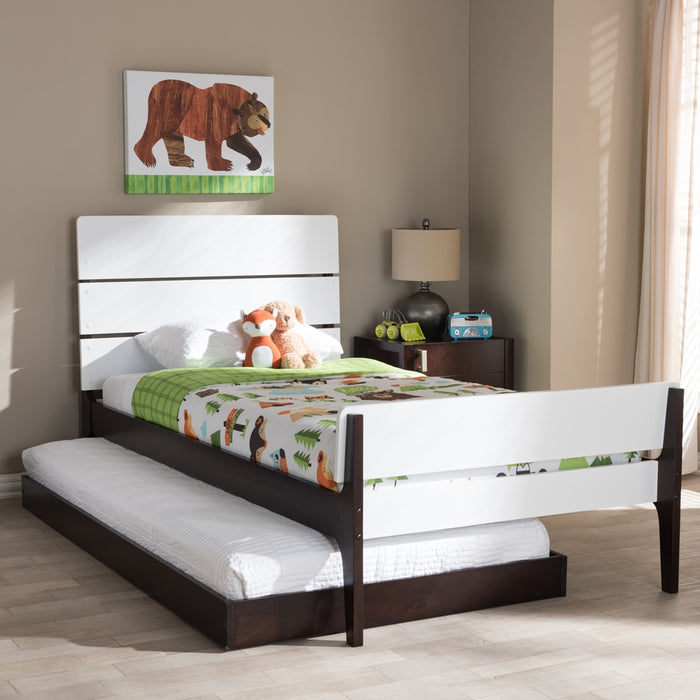 Nereida Mission Wood Platform Bed