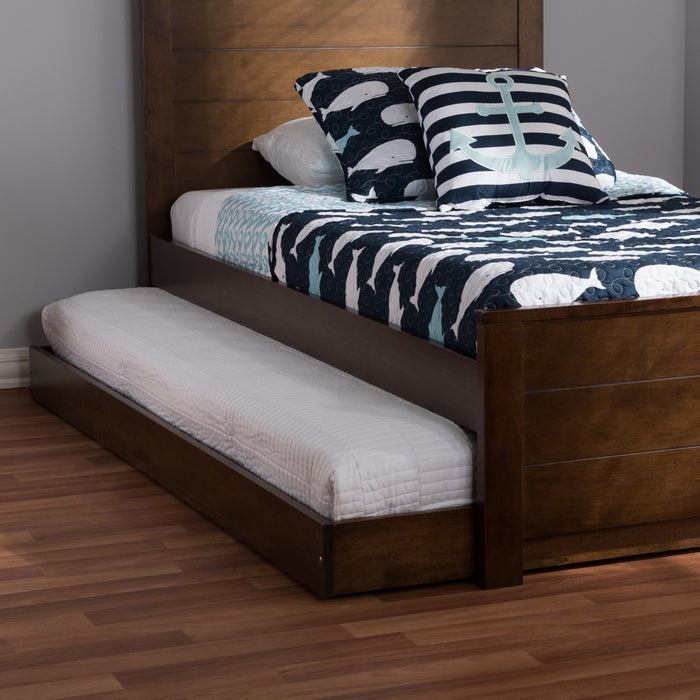 Payton Contemporary Wood Trundle