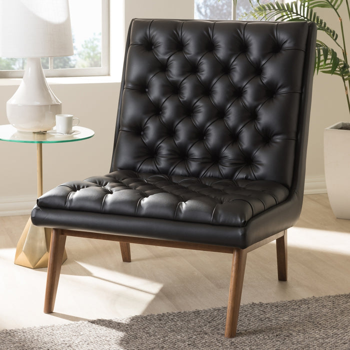 Annetha Leather Lounge Chair