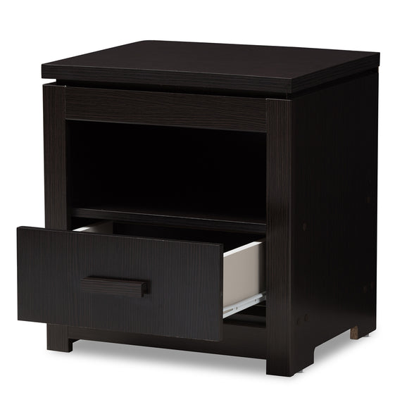 Bienna Modern and Contemporary Wood Nightstand