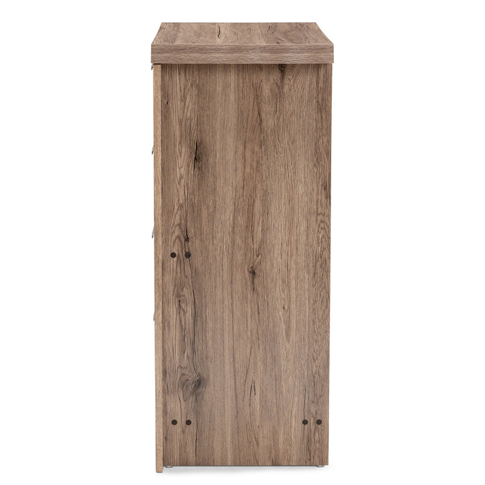 Laverne Contemporary 4-Drawer Wood Chests