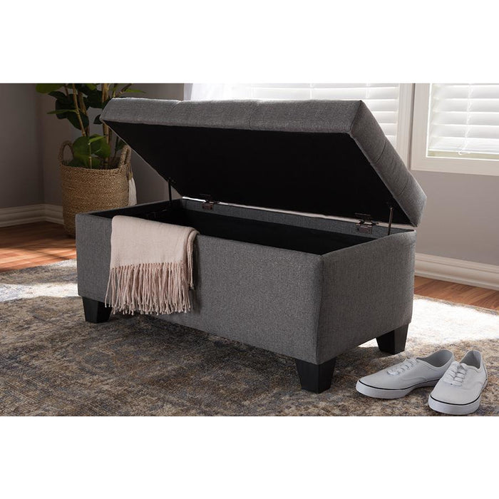 Michaela Contemporary Storage Ottoman