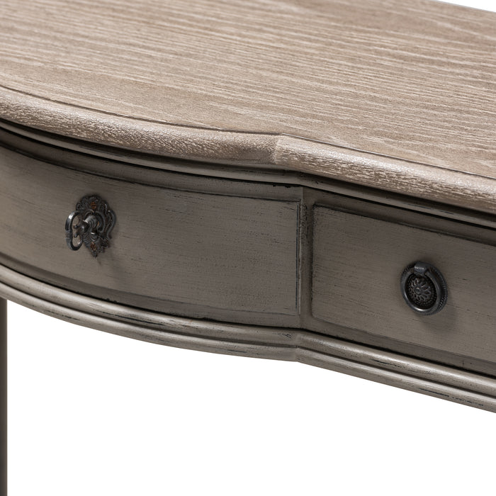 Noelle French Provincial (1-Drawer) Wood Console Table
