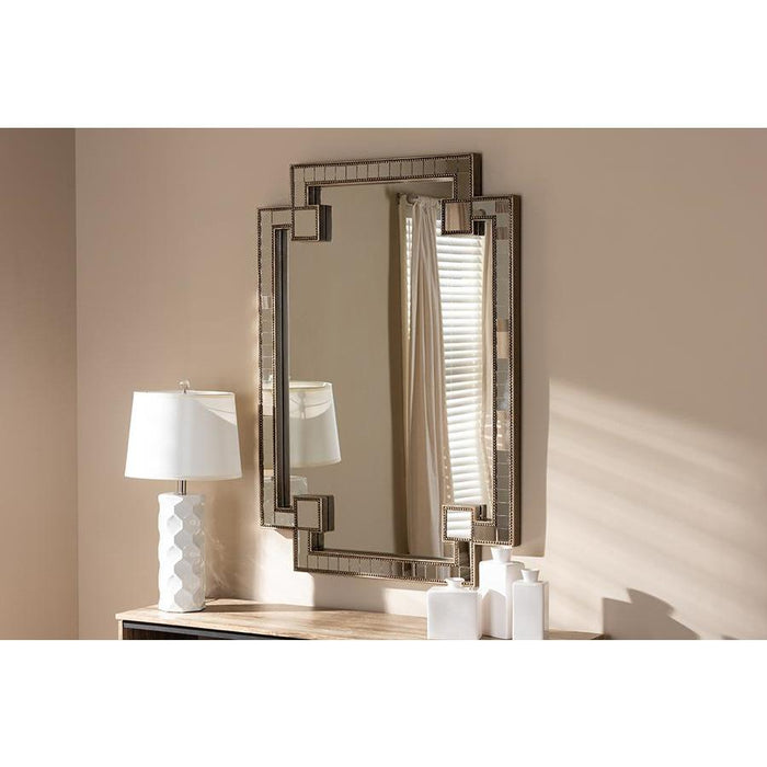 Fiorella Contemporary Accent Wall Mirror