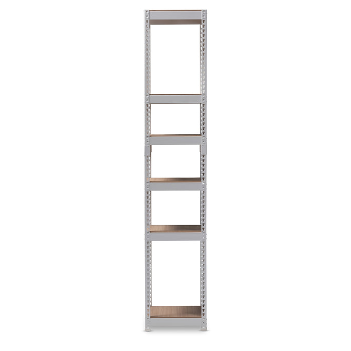 Gavin Contemporary (5-Shelf) Metal Closet Rack