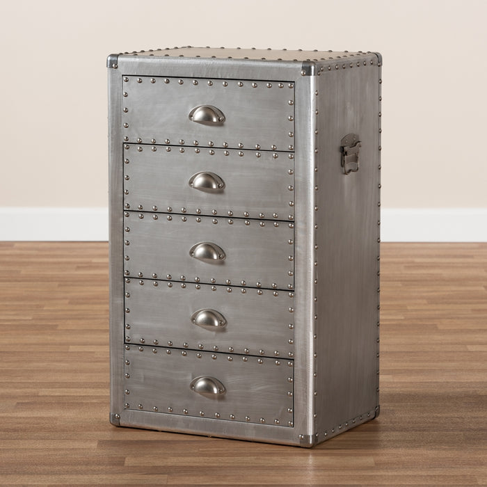 Davet Industrial Wood Chests