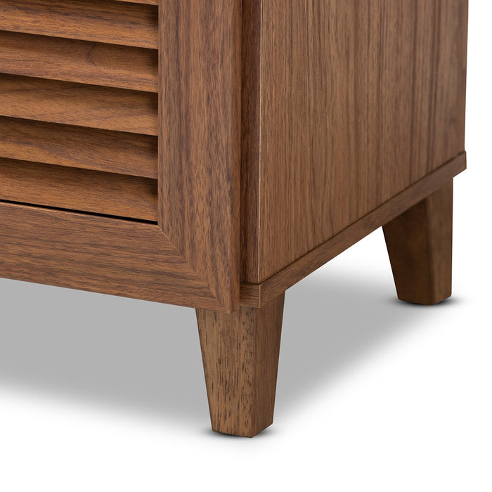Coolidge Contemporary Wood Shoe Cabinet