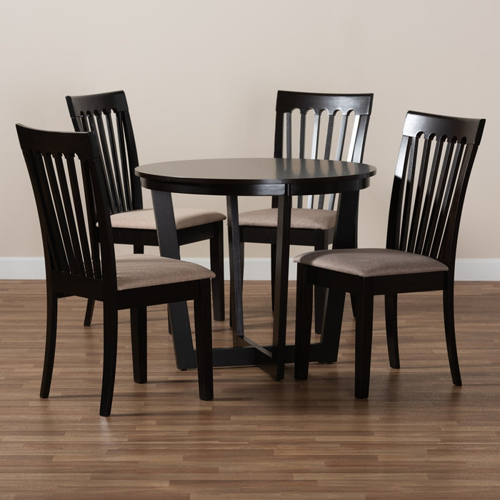 Nellie Modern Wood (5-Piece) Dining Set