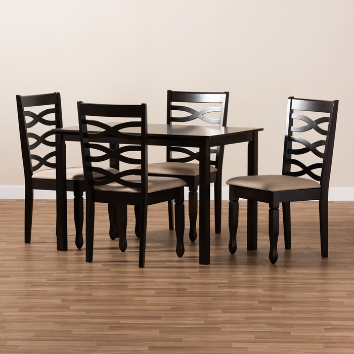 Lanier Contemporary Wood (5-Piece) Dining Set