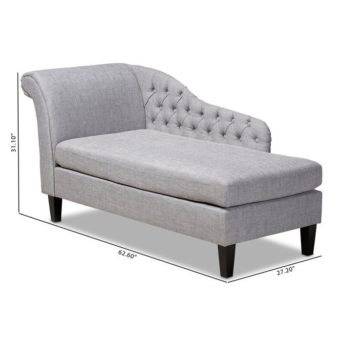 Florent Contemporary Chaise Lounge