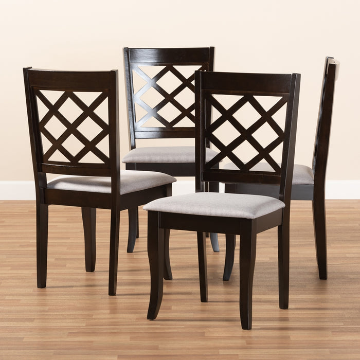 Verner Four (4) Dining Chairs